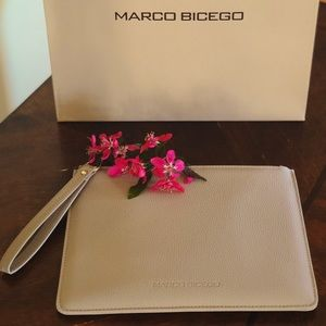 Marco Bicego Leather Wristlet Wallet Pouch Clutch
